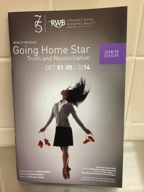 Going Home Star - Magazine cover