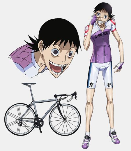 Kent Twitterissa 弱虫ペダル の御堂筋 翔 自転車の画像出てきたらステム規格外過ぎて笑った 元気出た Http T Co Cmbbapjovh