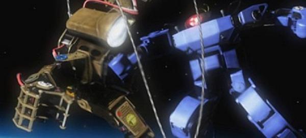 宇宙で戦うロボ(Robot fighting in the space)。ロボット格闘技大会であるROBO-ONEでは宇宙大会を企画している。一連の装置を衛星に積んで打ち上げて人型ロボット同士でリーグ戦を行う。