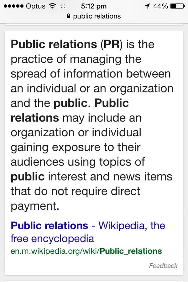 @gr33nrust @evacox @HelenRazer @JaneCaro I feel like you're asking what Public Relations is http://t.co/WG3lmUwU3f