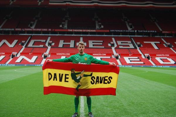 Dave saves (again and again). @D_DeGea http://t.co/wI7woZGfjL