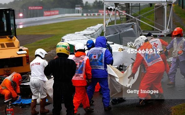 """@N0NAG: These photos are scary #JapaneseGP #Bianchi #crash http://t.co/mSnk3O3NDU"" #SkyMotori foto spaventose"