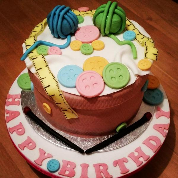 Cakes On Toast On Twitter Knitting Nanna Birthday Cake Knitting