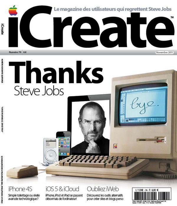 Il y a trois ans Steve Jobs nous quittait. http://t.co/EWGDNtX5e0