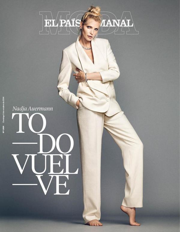 Hoy Extra Moda de @elpaissemanal, dedicado al eterno retorno de la industria, con Nadja Auermann. Foto: @BustosNico http://t.co/VYHVg4J6RE