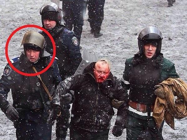 Экс-замглавы киевской милиции Федчук, которого ищут за разгон Майдана, в России разгонял протест на Манежной - Цензор.НЕТ 3859