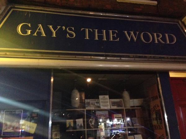 Fans of #Pride film: the bookshop is still going and great! Marchmont St, Bloomsbury. Well worth a visit @gaystheword http://t.co/60S403o2SB