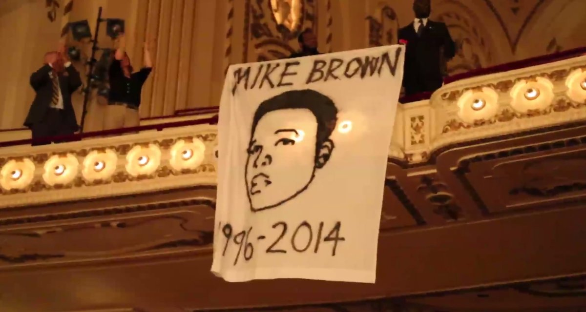 Ferguson Protesters Disrupt St. Louis Symphony With Song For Michael Brown