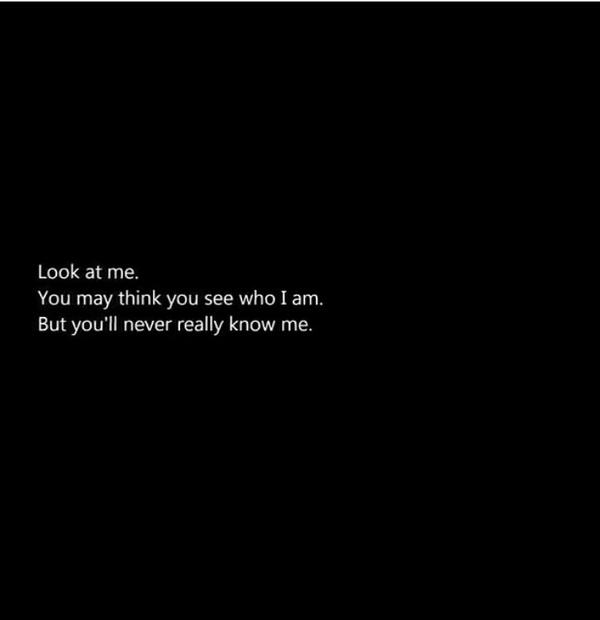 Depression Quotes On Twitter No One Knows Me Cq Httptco