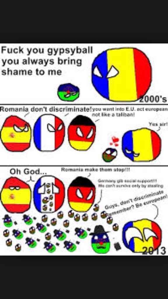 ジプシー問題【解説】ルーマニアはジプシー(ロマ)に対して結婚、就職、就学、転居などあらゆる方面で差別が行われているとされている。ヨーロッパでは犯罪の原因となっているようです。