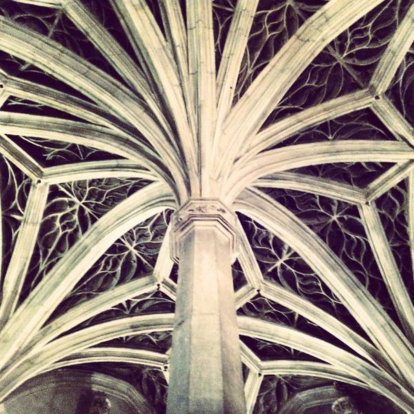 #Gothic #Column #Roof #Nerves #Cluny #Medieval #Museum #Paris #France http://t.co/t273M39M8o
