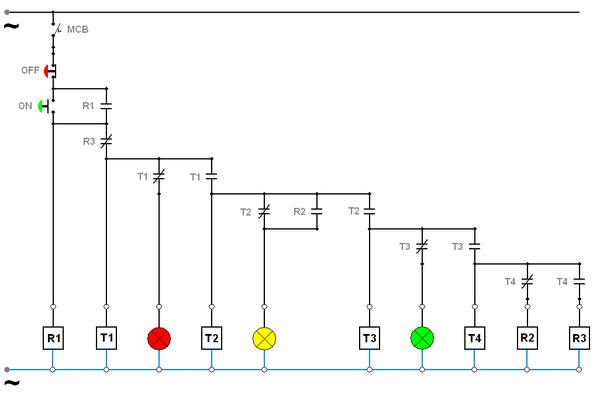 wiring diagram lampu jalan wire center u2022 rh regalton co Model Model Lampu Penerangan Jalan Jakarta Lampu Jalan Kuching