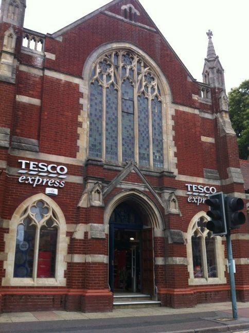 Here's the Church of Tesco I spotted... http://t.co/3Q0Vs4ACn9