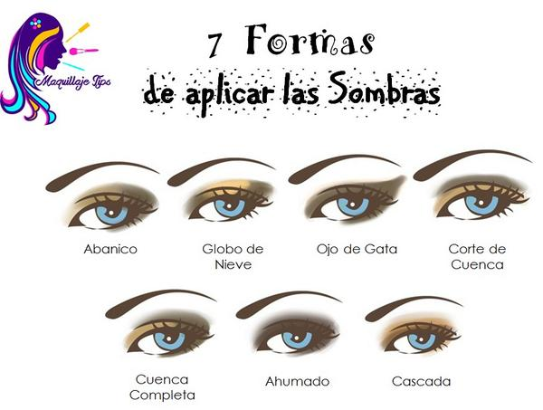 Maquillaje tips ccs on twitter 7 formas de aplicar las - Maneras de maquillarse ...
