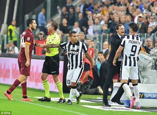 Roma-Juventus probabili formazioni senza Pirlo