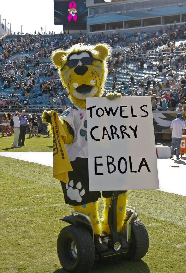 Jacksonville Jaguars Mascot Loses Bet Tries - image 7