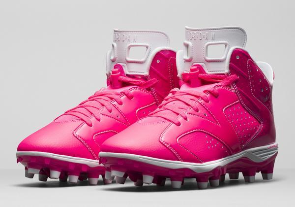 timeless design 86201 6c109 RT  SneakerNews  Think Pink. Think 6. http   sneakernews.com 2014 10 05 air- jordan-6-breast-cancer-awareness-pe-cleats  …pic.twitter.com 7MpGynfcol