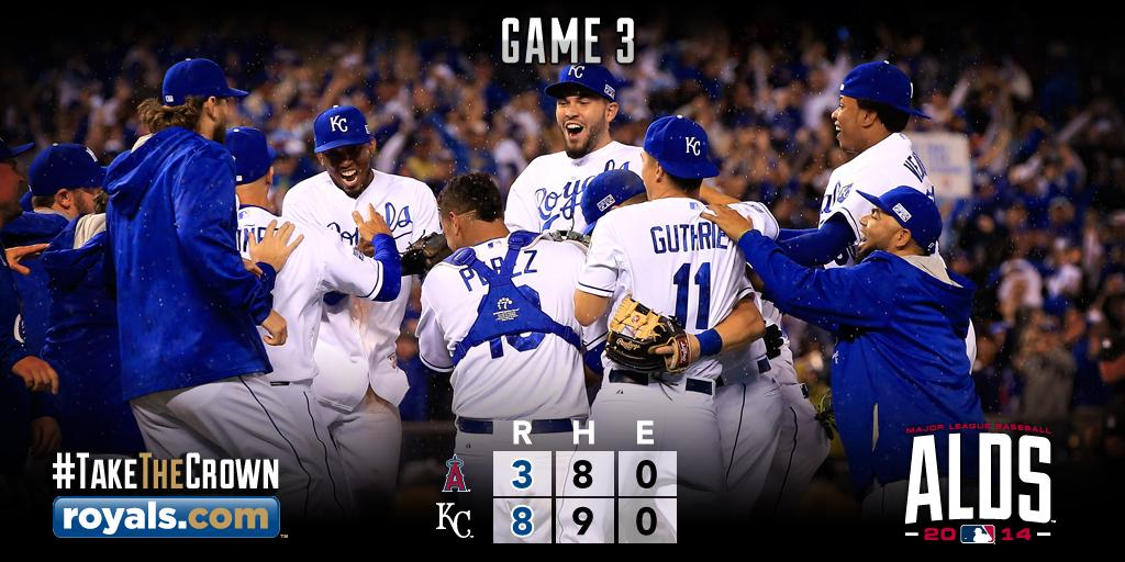 Weekend Unwind - Kansas City Royals Sweep LA Angels - head to ALCS