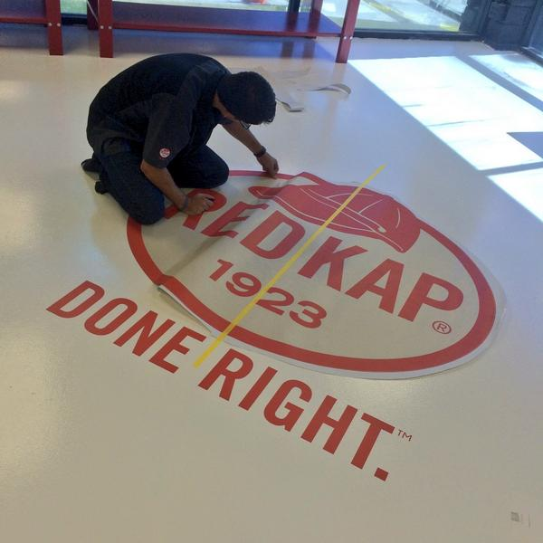 Henrik laying it down for our partners @Red_Kap in the new retail showroom! Stay tuned..... #EMPIRETAKEOVER http://t.co/gHPvzBcwjc