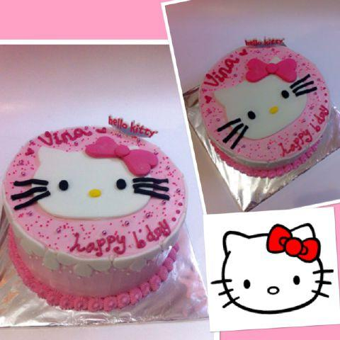 Vicky Cakes on Twitter hellokitty birthday cake bekasi