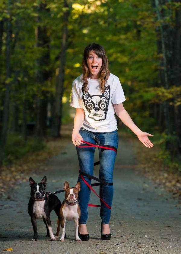 "Boston Terrier Cult on Twitter: ""#BostonTerriers and a lady human ..."