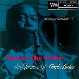 """【ジャズの100枚。】チャーリー・パーカー『ナウズ・ザ・タイム+1』飛ぶように自由に演奏することから""""バード""""と呼ばれた、天才サックス奏者チャーリー・パーカーの代表作 http://t.co/OD7IcrzG7c http://t.co/8Qaab7pSB2"""