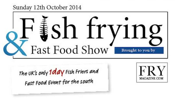 See us at the Fish Fryers and Fast Food Show on Sunday 12th October at Sandown Park. #fishfryingfastfoodshow http://t.co/gfsQ280TNA