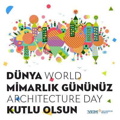 Dünya Mimarlık Gününüz kutlu olsun! #WorldArchitectureDay http://t.co/nqevUaoVwv