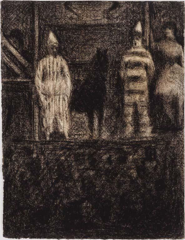It's time for #breakforart. Today we are talking about Georges Seurat's Sidewalk Show http://t.co/XkZbG6GAVd http://t.co/oV3hy2Ln2H
