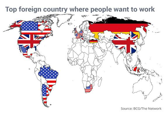 In one map, the foreign country where people want to work http://t.co/uuCsqUF4uK http://t.co/uALekVamZx