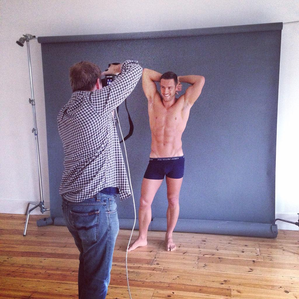 RT @FayLHill: One for the ladies today @spacedebeauvoir @elliottwright_ #2015Calendar #photoshoot with @alanstrutt @The_CAN_Group http://t.…