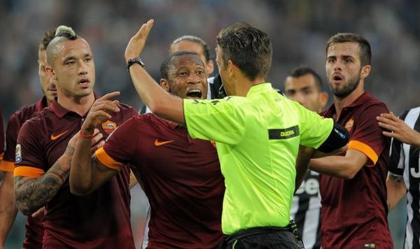 Serie A: Juventus Roma 3-2, l'arbitro Rocchi chiede scusa.