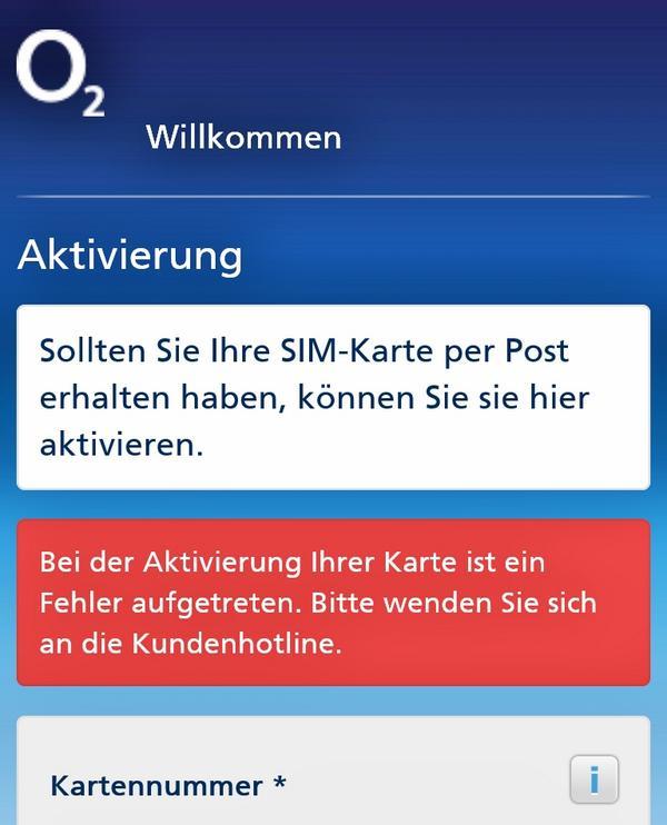 O2 De Willkommen Sim Karte Aktivieren.O2 Deutschland On Twitter Heide Xd Die Kundenhotline