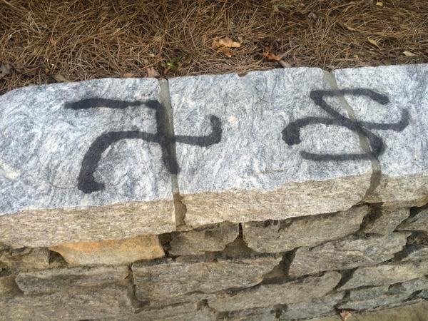 More Spray-Painted Swastikas Found Outside Second Emory University Fraternity House