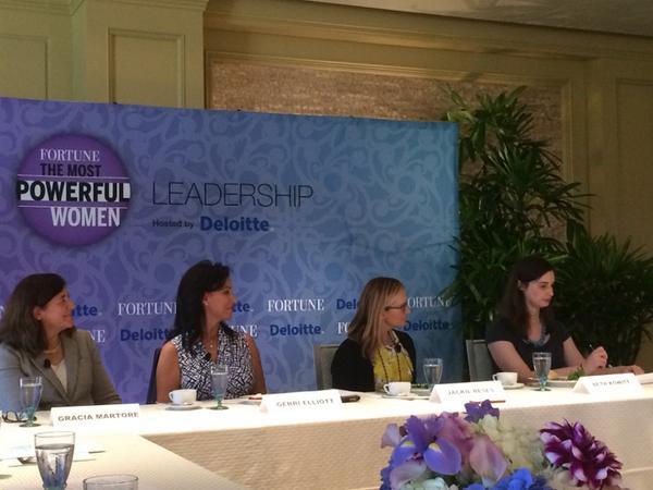 #FortuneMPW kicks off: #leadership #boards #graciaMartore, #gerriElliott, #jackieReses @Gannett @yahoo<br>http://pic.twitter.com/tNAocRO7IF