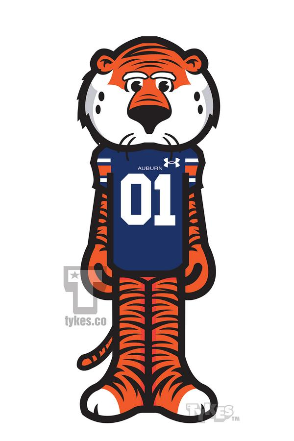 tykes on twitter aubie the tiger mascot tyke mascotmonday rh twitter com Auburn University Tiger Logo Auburn University Tiger Logo