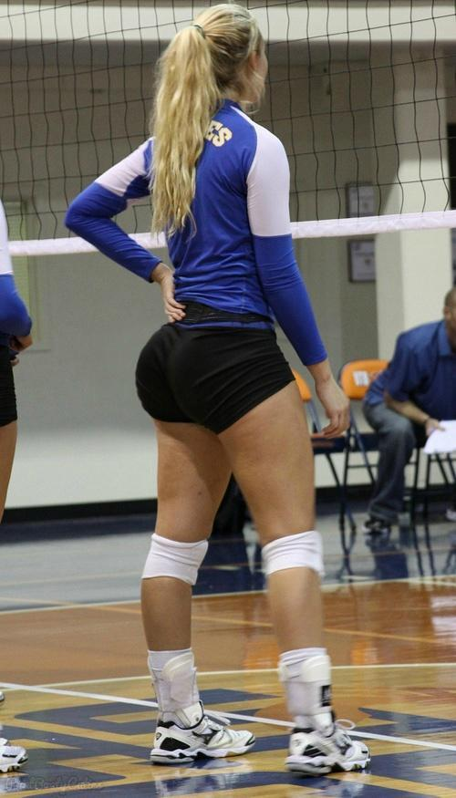 Sexy volley girl, she masturbates to a nice orgasm