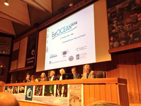 Thumbnail for #EurOCEAN2014   7-9 October 2014 - Rome