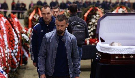Игроки сборной России приехали проститься с Федором Черенковым (+ фото)