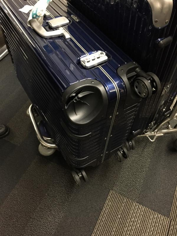 how to fix a broken suitcase wheel