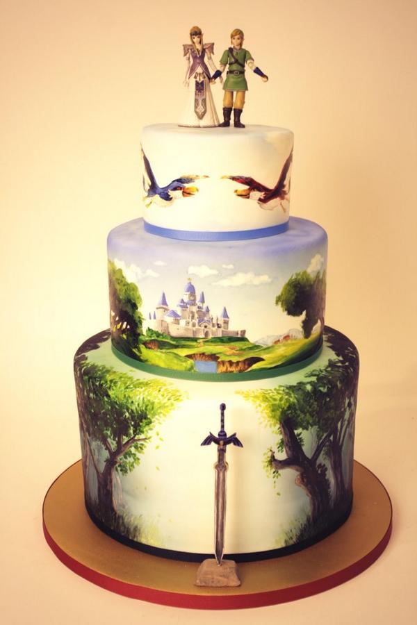 Destiny Wedding Cake