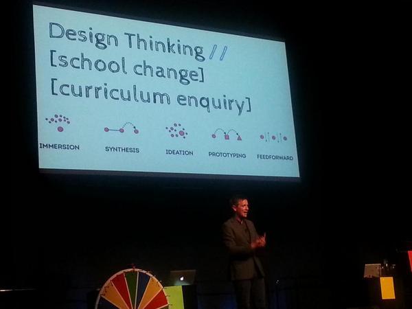 Design thinking. .. @tombarrett #uLearn14 http://t.co/LLupMc4I17