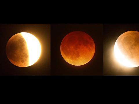 La Lune va virer au rouge mercredi à la faveur d'une éclipse lunaire totale http://t.co/Gb1TQM9dMR http://t.co/WDtTx4OGq2