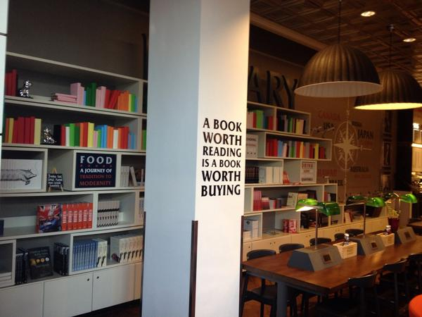 I'm on my way to Frankfurt. Saw this in a cafe. #FBF14 #fbm14 can I hear a HELL YEAH? http://t.co/D9jzSmg2FU