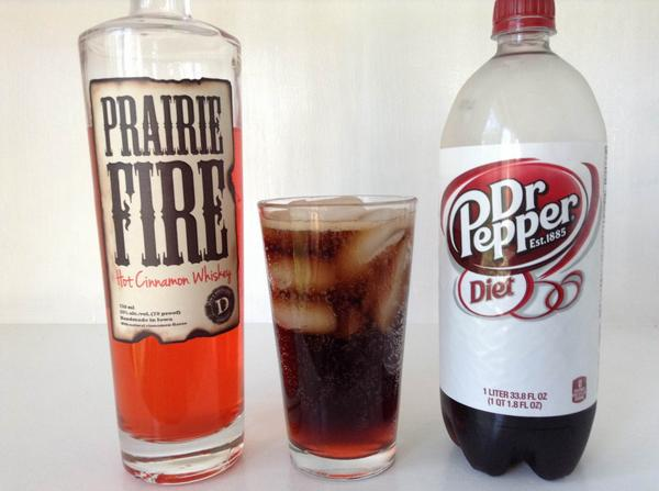 Whiskey and dr pepper
