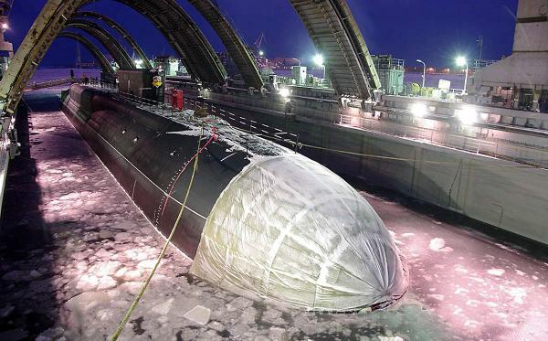подводные лодки города северодвинска