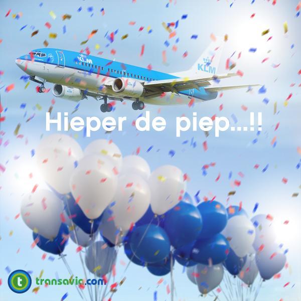 Van harte gefeliciteerd @KLM ! #KLM95 http://t.co/R3pJZQIboU