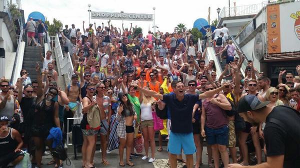 Party In Playa Del Ingles