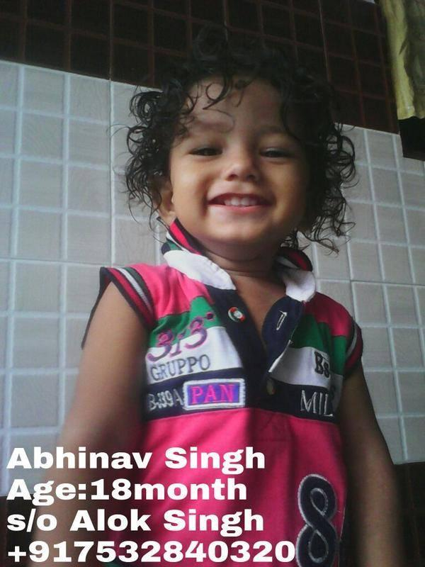 #AbhinavMissing Who took away this 18 month old baby. U need to listen to  parents plea @yadavakhilesh. pic.twitter.com/a9XagqMks8. @ibnkhabar