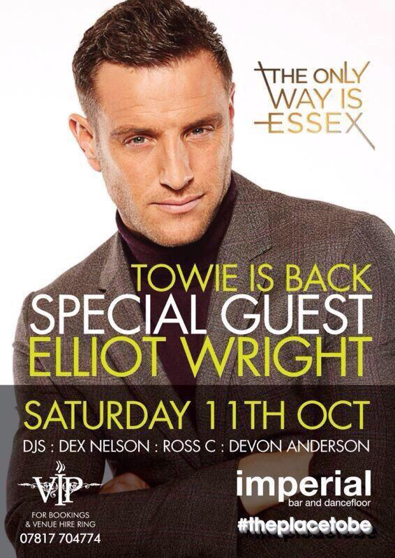 RT @ImperialBar1: @elliottwright_ looking forward to this Saturday!!! All tables booths sold out #busy #sthelens @whatsonsthelens http://t.…